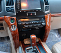 16PCS 3D Interior Panel Dash Board Cover For Toyota Land Cruiser 200 Accessories FJ200 2008-2014