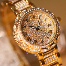 цены Relogio Feminino Montre Femme Marque De Luxe 2019 Luxury Diamond Watch Fashion Ladies Watch Casual Women Watches Reloj Mujer