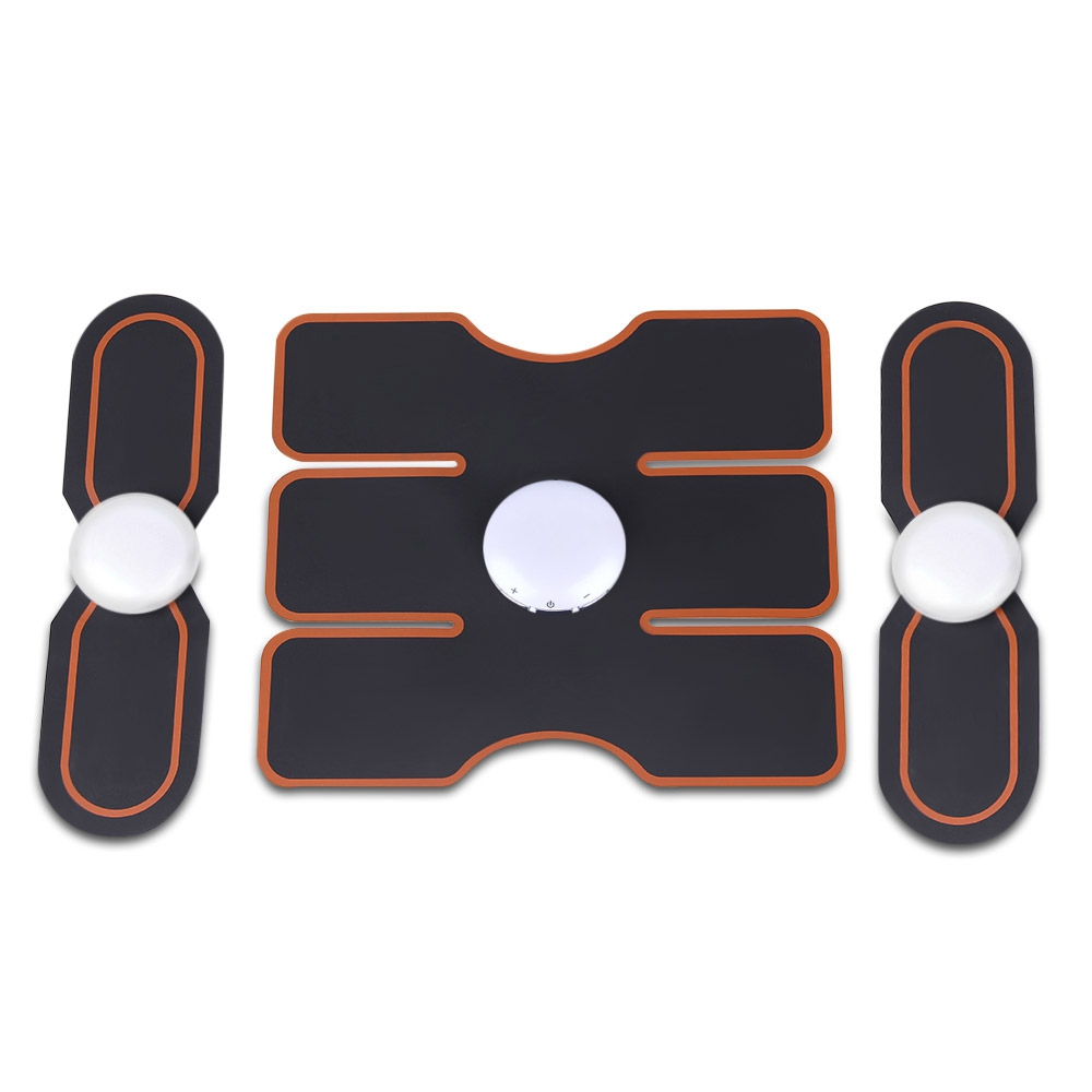 3pcs Electric Training Gear Smart Fitness Gear Muscle Sculpting Exercise Tools With Electrical Muscle Stimulator Technology