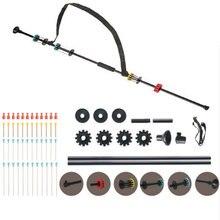 """צעצוע צינורית ירי ציד & ירי/36 & 48"""" שחור צינורית ירי עם 48 חצים/ .40 קליבר אלומיניום צינור W. אחיזת נוחות"""