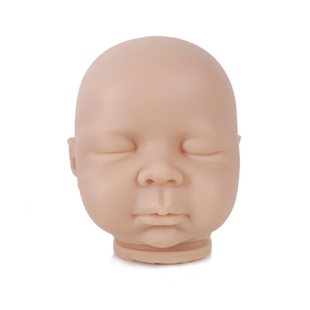 20 inch Blank Vinyl Silicone Reborn Doll Kits Doll Accessories Realistic Sleepy babies Dolls Closed eyes lol reborn bebe kit toy20 inch Blank Vinyl Silicone Reborn Doll Kits Doll Accessories Realistic Sleepy babies Dolls Closed eyes lol reborn bebe kit toy