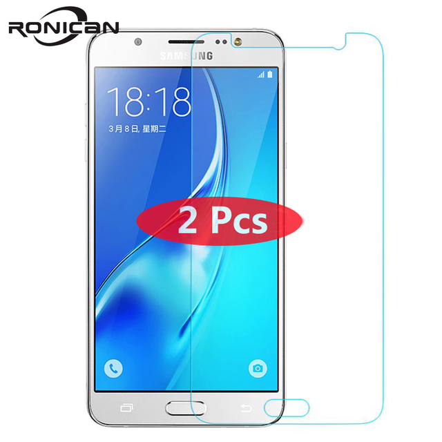 2Pcs Tempered Glass For Samsung Galaxy S6 S5 S4 A5 A3 A710 J3 J5 2016 J2Prime G5308 Grand Prime Screen Protector Protective Film