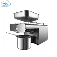 Oil Press Machine Automatic Olive Peanut Oil Squeezer Cocoa Soy Bean Press 450W oil expeller EU/US Plug Kitchen Accessories 304 stainless steel manual oil press peanut nuts seeds oil press expeller oil extractor machine
