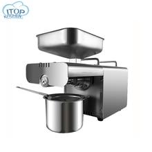 Oil Press Machine Automatic Olive Peanut Oil Squeezer Cocoa Soy Bean Press 450W oil expeller EU/US Plug Kitchen Accessories цена в Москве и Питере