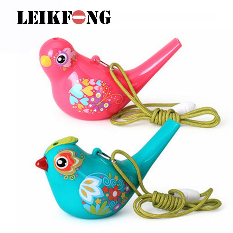 Water Bird Whistle Coloured Drawing Bathtime Musical Toy For Kid Early Learning Educational Children Gift Toy Musical Instrument