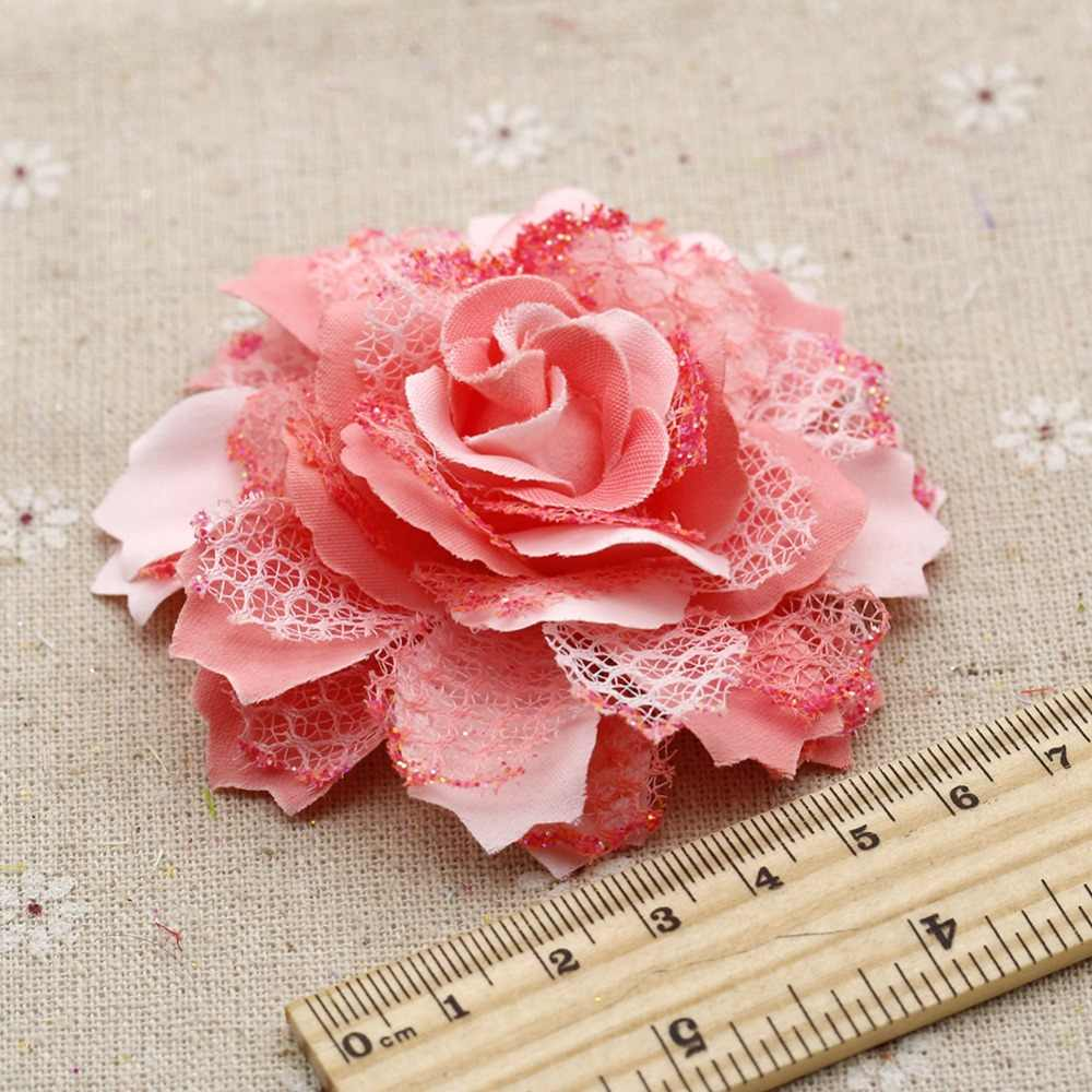 Large decorations weddings arches peony flower heads DIY tricycle artificial flowers basket brooches accessories 7cm/1pcs