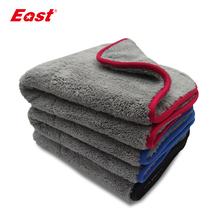 East Double sided Coral Velvet Home Cleaning Towels Super Absorbent House Cleaning Double layer Car Care  Washing Towel