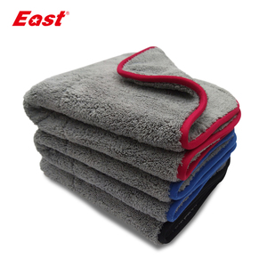 Image 1 - East Double sided Coral Velvet Home Cleaning Towels Super Absorbent House Cleaning Double layer Car Care  Washing Towel