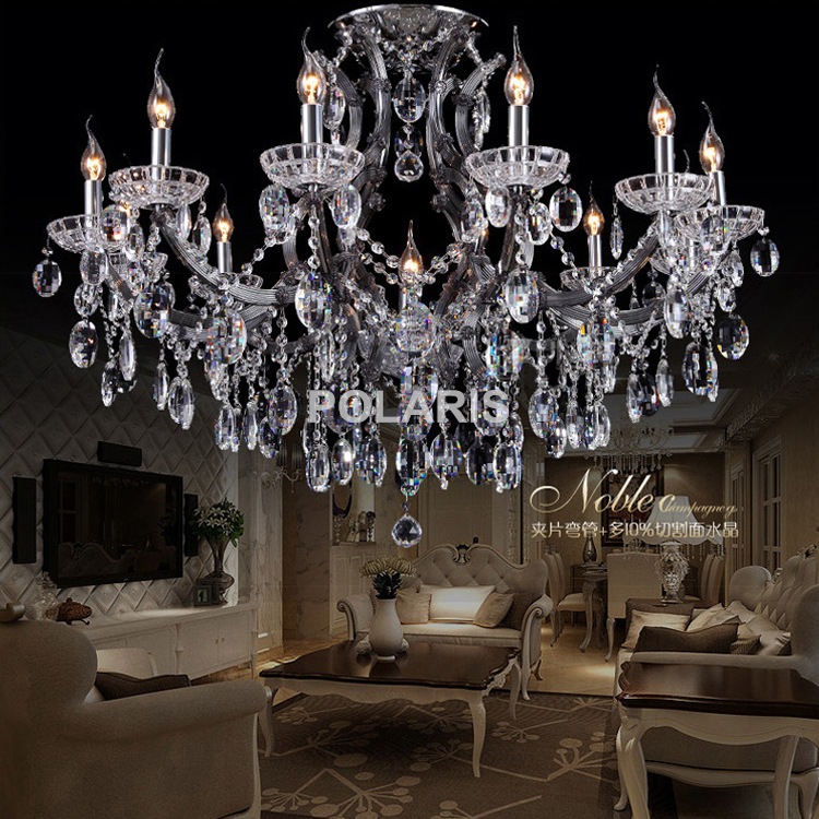 Cristal Candle Chandelier Maria Theresa Crystal Chandeliers Wedding Hanging Lamps Hotel Light Home Lighting Bedroom Decor led crystal chandelier lighting decorative chandelier for wedding led wedding light curtain hanging crystal chandeliers