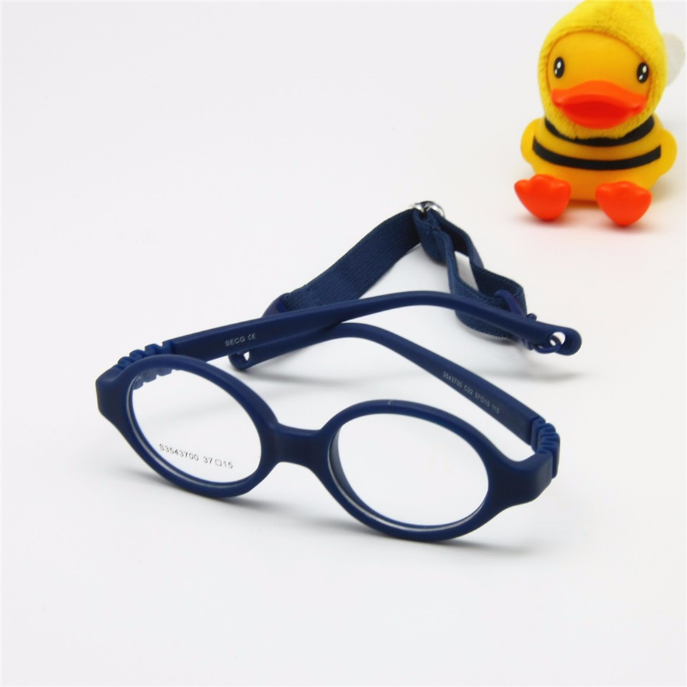 addf354a1a6 Baby Glasses Size 37mm No Screw Safe Bendable with Strap