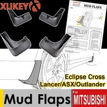 Автомобильные Брызговики XUKEY для Mitsubishi Lancer ASX Outlander Sport Eclipse Cross Брызговики
