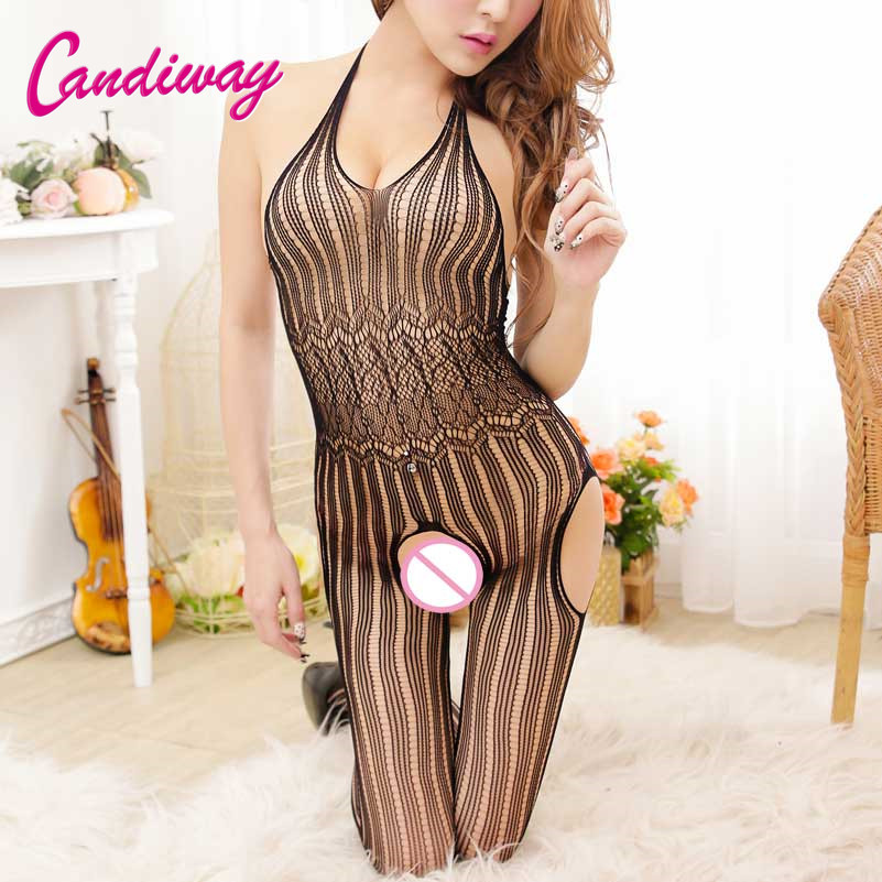 Hot Super Deal Sexy <font><b>Lingerie</b></font> Dress Women Open Crotch Seamless Porn <font><b>Adult</b></font> <font><b>Sex</b></font> Clothes Body Stocking Transparent Erotic Costumes image