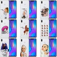 Thank U, seguinte Ariana grande-Butera macio núcleos doces caso de telefone para o Huawei P8 P9 P10 P20 Lite Plus macia Funda Coque