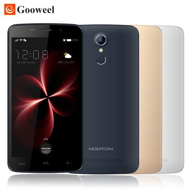 HOMTOM HT17 Pro смартфон 5.5 дюймов Android 6.0 MTK6737 Quad Core 2 ГБ + 16 ГБ 3000 мАч 13MP OTG Отпечатков Пальцев ID 4 Г Мобильный телефон