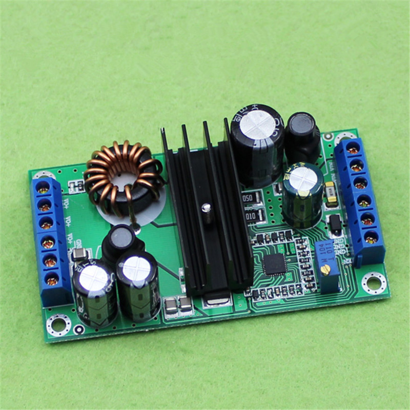 High Power DC 5-32V to 2V-24V 12A Automatic Step Up Down Module LTC3780 Car Power Supply Module 1pc ltc3780 constant voltage current power supply step up down automatic pressure lifting module dc5 32v