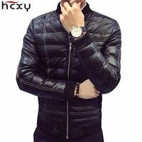 Men S Jacket Men PU Casual Slim Healthy Middle Waist Jacket M 5XL Brand New 2017
