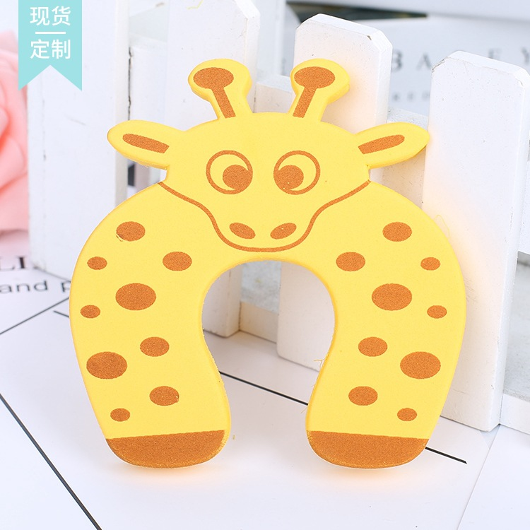 2pcs Baby Child Proofing Door Stoppers Finger Safety Guard Random Holder Lock Safety Guard Finger Protect Toy For Baby Born #2