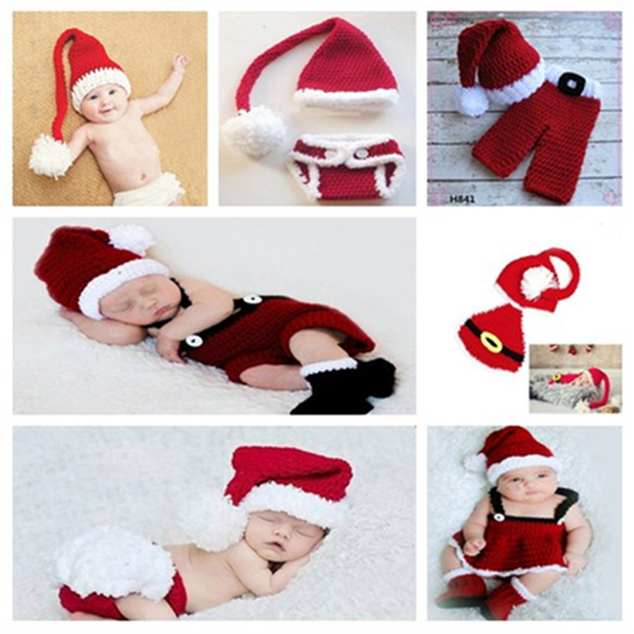 Neonatal Christmas clothes baby party manual photography clothing ...