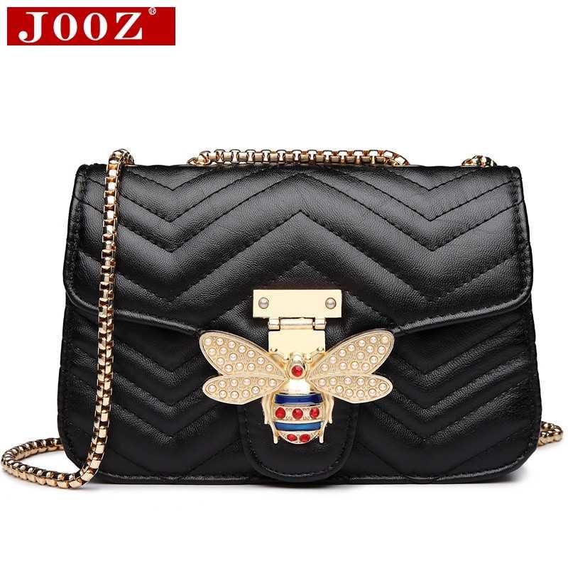 Cadeia de sacos de Ombro para as mulheres 2019 Bolsas De Luxo Mulheres Sacos de Designer de Marcas Famosas Mensageiro De Couro Senhoras Bolsa Sac A Principal