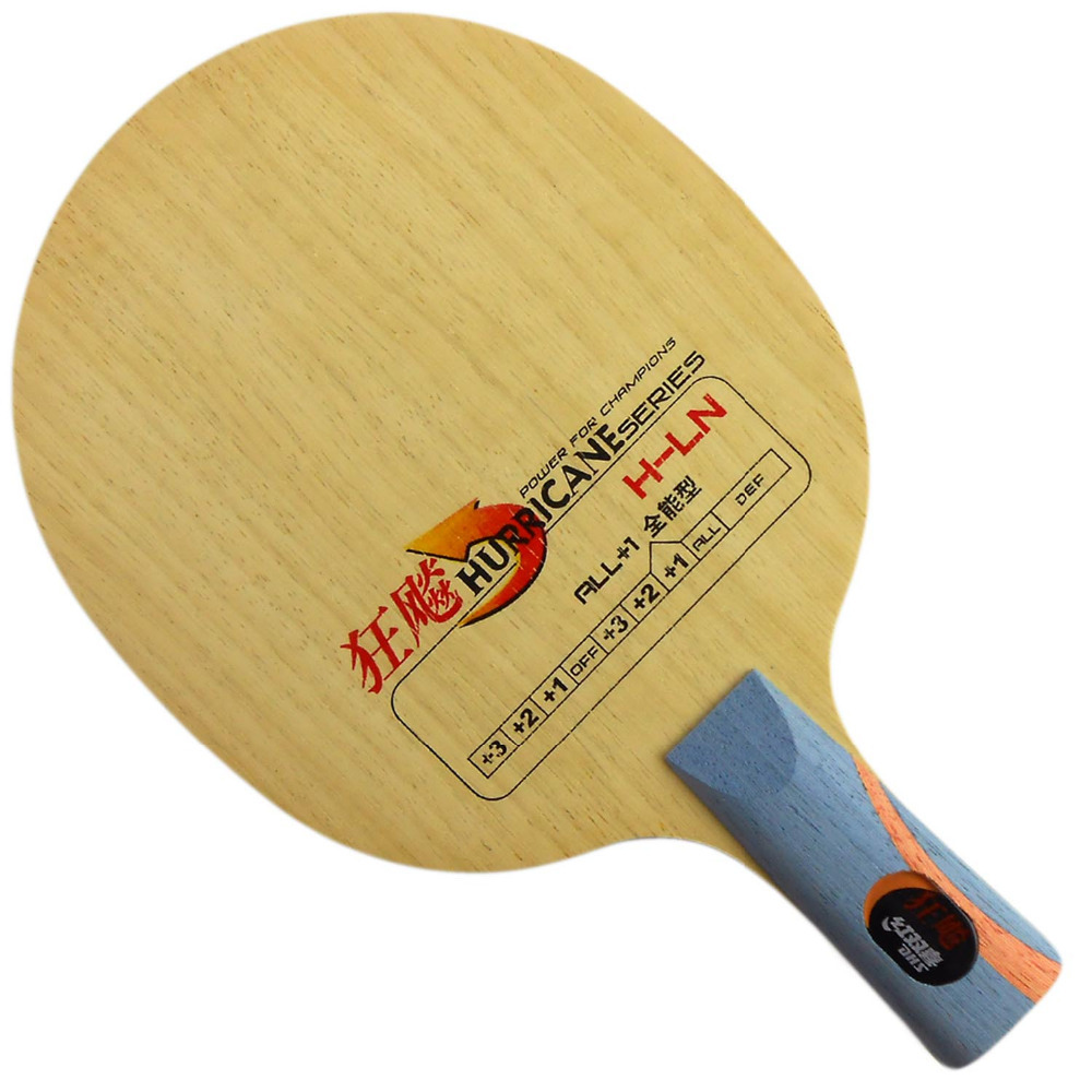 DHS Hurricane H-LN Table Tennis PingPong Blade penhold short handle CS [playa pingpong] dhs k161 chinese naitional version vis structure balde