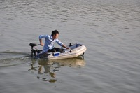 175cm professional inflatables kayak fishing boat pvc boat for 2person
