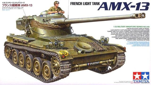 Tamiya 1/35 French Light Tank Amx-13-35349 Toys & Hobbies Radio Control & Control Line