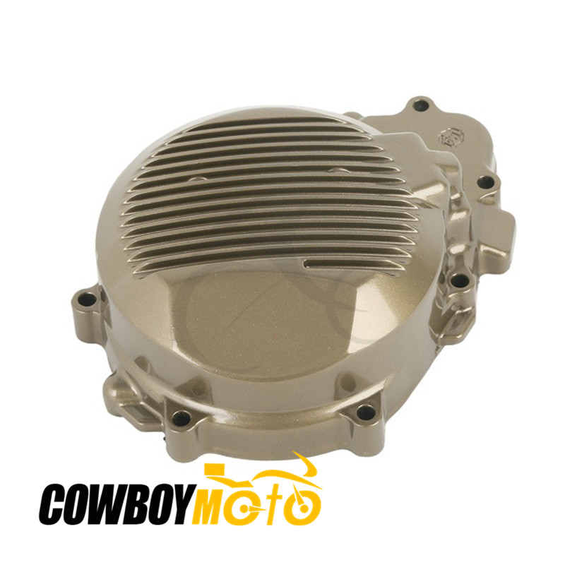 Motorcycle left Stator Engine Cover Crankcase fit for Kawasaki ZX6R 1998 1999 2000 2001 2002 ZX-6R CNC Aluminum FECKA002 motorcycle stator engine cover left magneto cover for kawasaki zx 9r 1998 99 00 01 02 2003 year