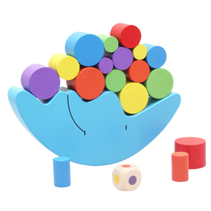 Image 4 - 1 ชุดเด็กทารกของเล่น Moon Balance เกมและเกมของเล่นสำหรับ 2 4 ปี Girl & boy (สีฟ้า)