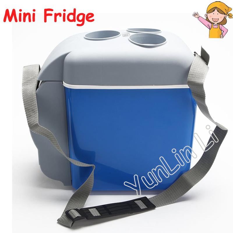7.5L Household Fridge12V Refrigerator ABS Freezer Home Refrigerator Office Refrigerator