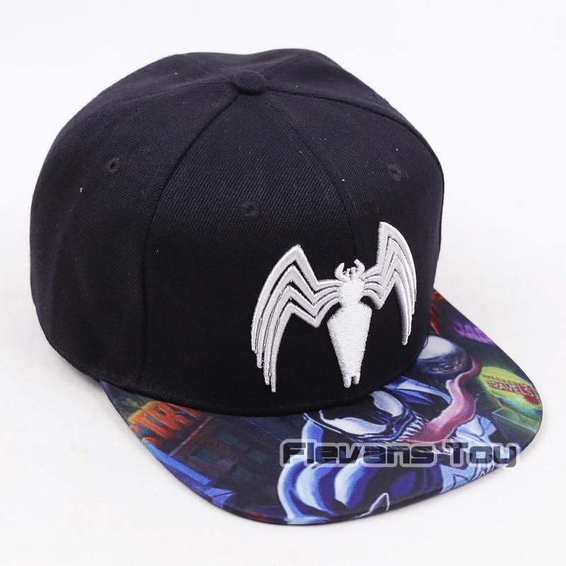 167b740c7f7 Marvel Comics Venom Snapback Caps Cool Fashion Letter Baseball Cap Bboy Hip  hop Hats For Men Women-in Baseball Caps from Apparel Accessories on ...