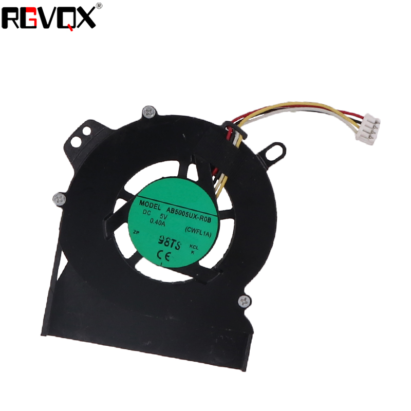 Купить с кэшбэком New Laptop Cooling Fan for LENOVO S9 S10 4 Pins PN: AB5005UX-R0B CPU Replacement Cooler/Radiator