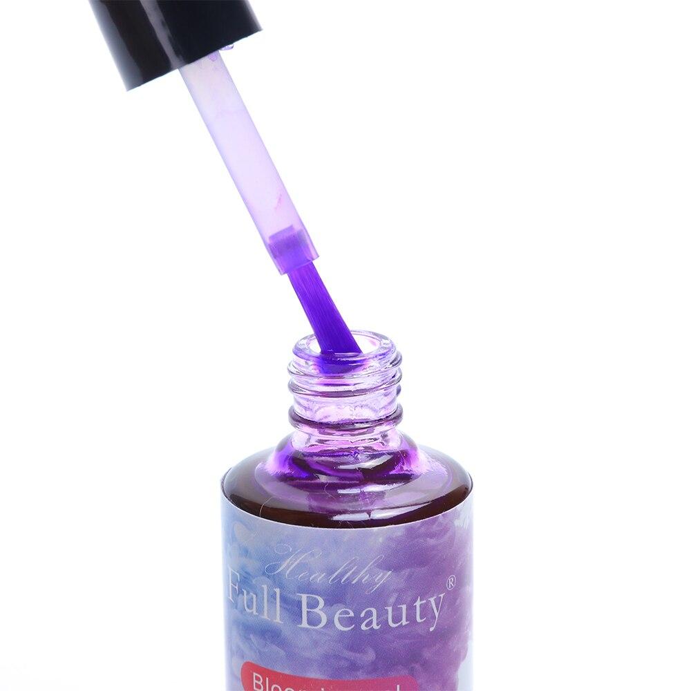 12 Bottle Nail Polish Set Watercolor Ink Varnish Gel Bloom Smoke Color Gel Polish Smudge Bubble