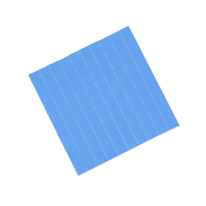 3000pcs 10x10x1MM Blue Compound Thermal Pad Silicone paste For Mini Heatsink Conductive Pad