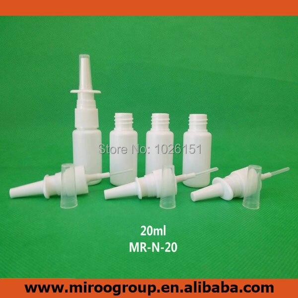 ᗖEnvío libre 100 unids/lote 20 ml spray nasal de plástico rociador ...