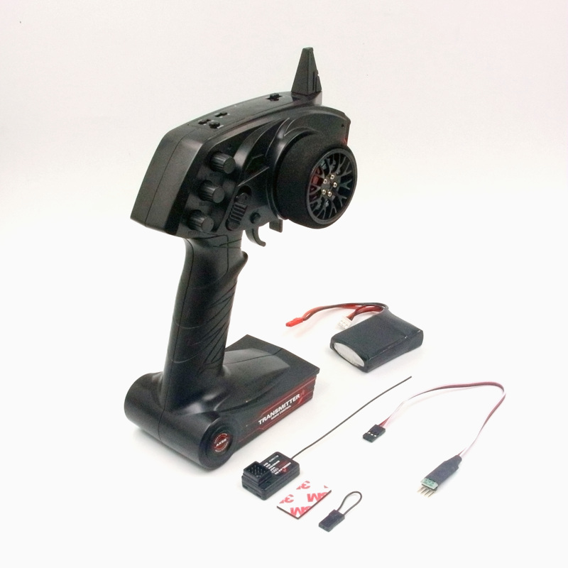 AUSTAR AX5S 2.4G 3CH AFHS Radio RC Transmitter with Receiver waterproof Super Active Passive Anti-jamming for RC Car Boat недорого
