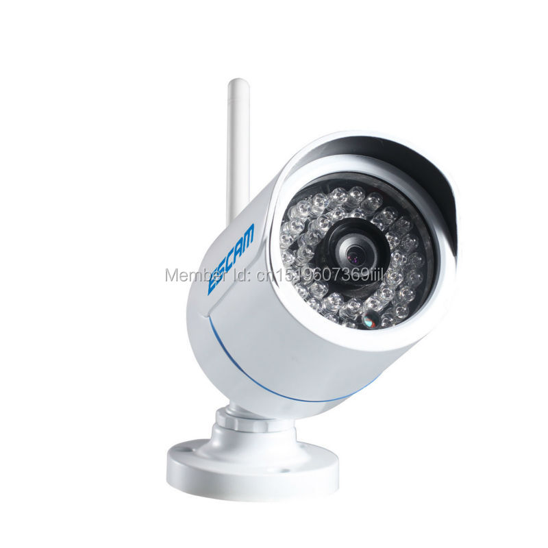 ФОТО ESCAM Q6320WIFI ONVIF H.264 1 Mega 720P HD WIFI Mini Waterproof IR Bullet IP Camera P2P PNP support smart phone view