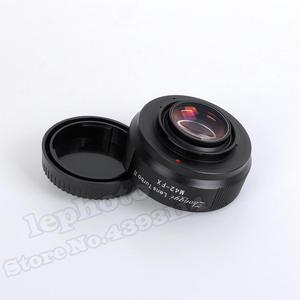 Image 4 - Mitakon Zhongyi objectif Turbo II réducteur de focale adaptateur Booster pour objectif de monture M42 vers Fujifilm XF X monture caméra X Pro2 X T3 X T2 T1