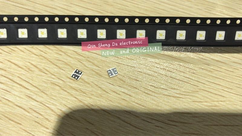 2000PCS LUMENS Flip Chip LED 2 4W 3V 3535 cool white 153LM LCD Backlight for TV