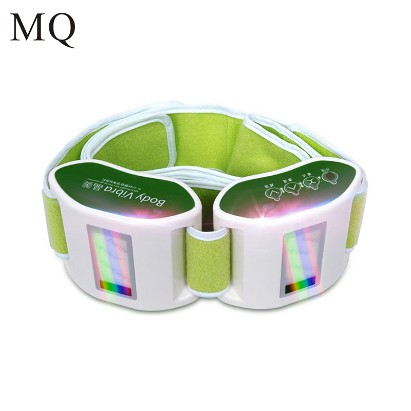 Electric Vibrating Slimming Belt Vibration Massager Belt Vibrating Waist Belly Leg Arm Fat Burning font b