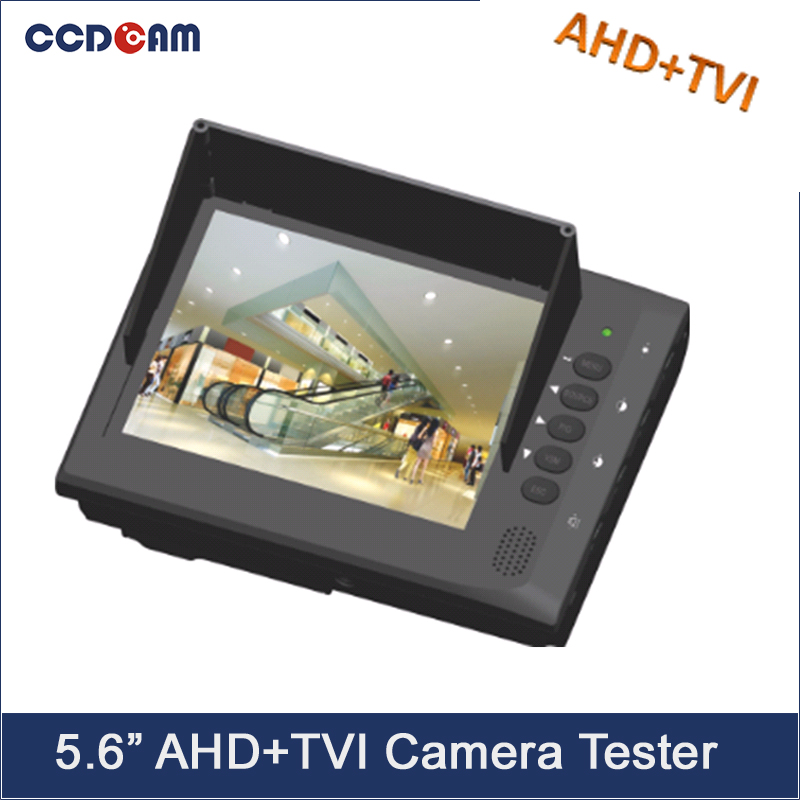CCDCAM 5.6 inch HD CCTV TVI Camera AHD Camera Tester 5.6 Monitor