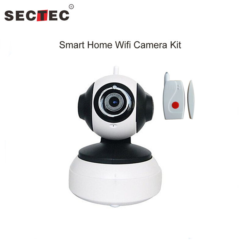 Whole Sale and Retail Mobile APP Yoosee Smart home wifi IP Camera Kit for Home Security support SD Card with 2pcs door sensor 9 2016 new 3d color printer dual kit for sale 3dprinter electronics with one roll filament masking tape 2gb sd card for free
