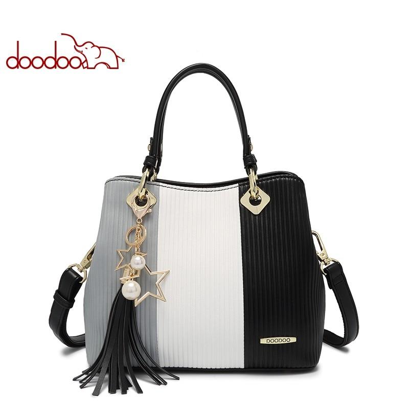 Women Bag Genuine Leather Bag Female Famous Brands Luxury Handbags Women Bags Designer Shoulder Crossbody Messenger Bags D7126