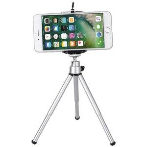 Image 3 - Treppiedi trippa cellulare del telefono mobile della macchina fotografica supporto del basamento della clip di alluminio di estensione treppiede per il telefono viaggio celular
