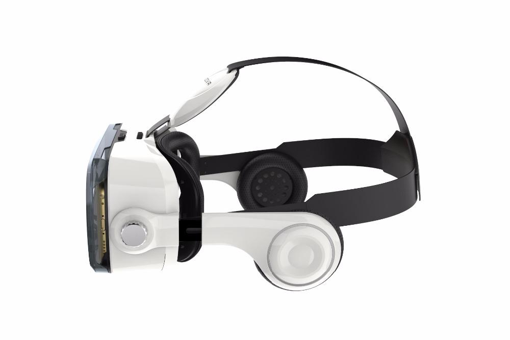 Virtual Reality Google Cardboard VR BOX Original bobovr Z4/ Z4 Mini 3D glasses+Bluetooth Controller for 4-6' Smart Mobile Phone 7