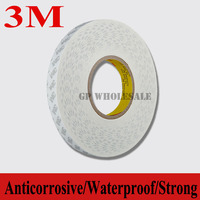 0 3mm Thick Original 3M 55280 White Waterproof Double Adhesive Tape PVC Scotch Tape For