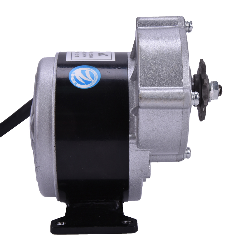 250W 24V gear motor ,brush motor electric tricycle ,DC gear brushed motor,Electric bicycle motor,3000rpm, MY1016Z2 1PC Hot