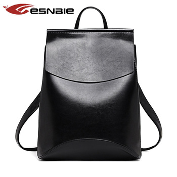 ab992e373e70 Fashion Women Backpack High Quality Youth Leather Backpacks for Teenage  Girls Female School Shoulder Bag Bagpack