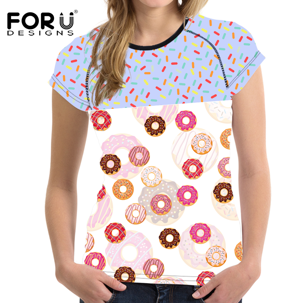 Women's Clothing Forudesigns Candy Color Women Short T Shirt Crop Tops Summer Breath Woman 3d Shirts Tees Elastic Female T-shirt Feminine Clothes