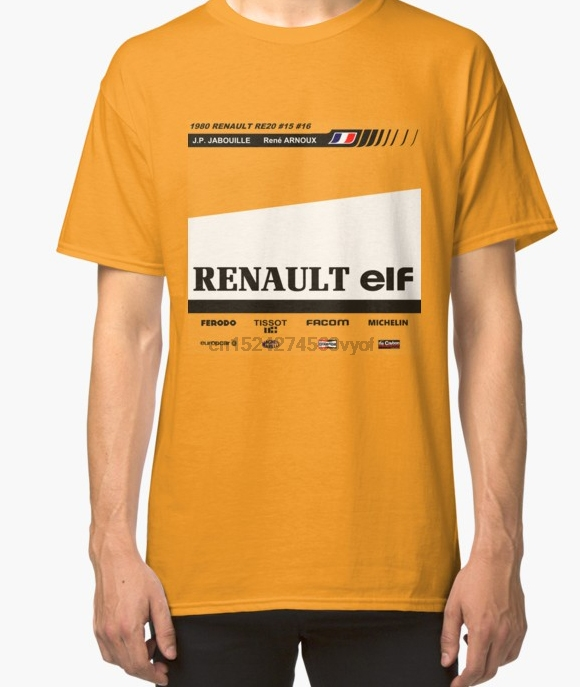 70dc96d87a5f0 100% cotton o neck custom printed t shirt Classic car Formule 1 Renault  RE20 women tshirts-in T-Shirts from Men s Clothing   Accessories on  Aliexpress.com ...