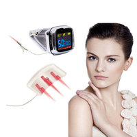 Cold Laser Therapy Watch For Rhinitis Ear Deafness Treatment.Home Laser Pain Relief Device.Patient'S Favorite